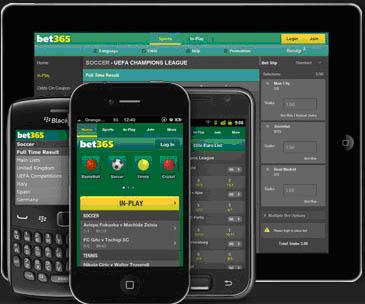 L'appli mobile de Bet365.com pour parier en déplacement